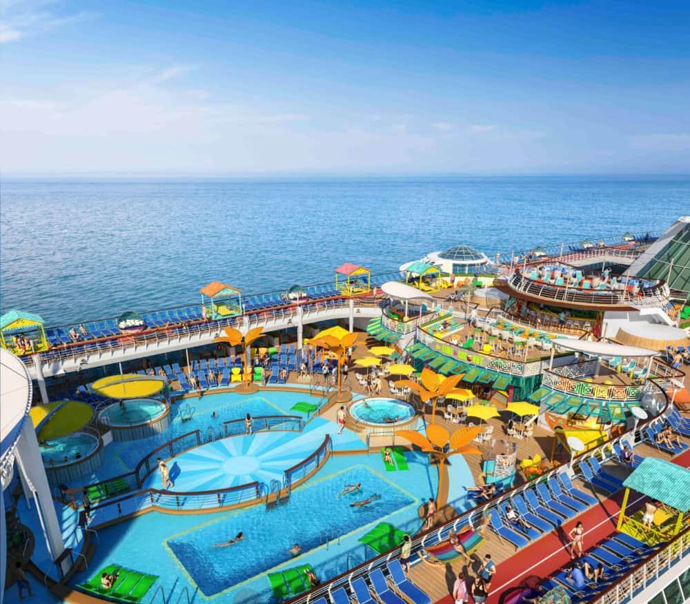Freedom of the Seas Pool Deck