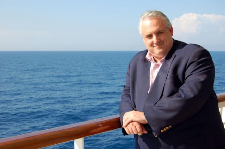 Carnival Cruise Line Ambassador, John Heald
