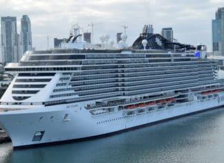 MSC Seaside Docked in Miami