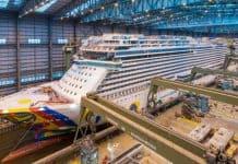 Norwegian Encore Under Construction