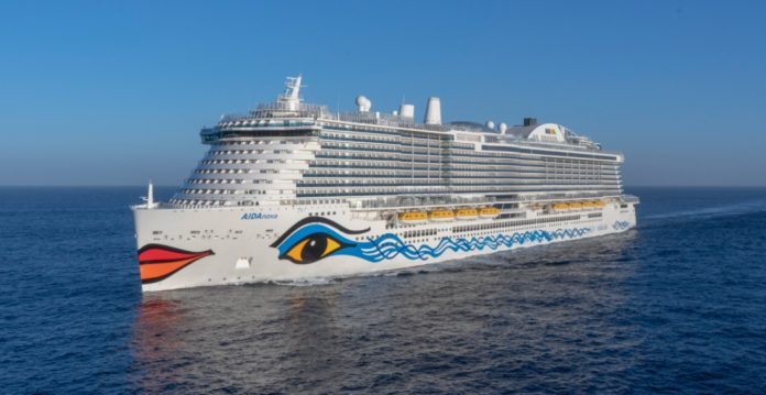 LNG Aida Cruise Ship