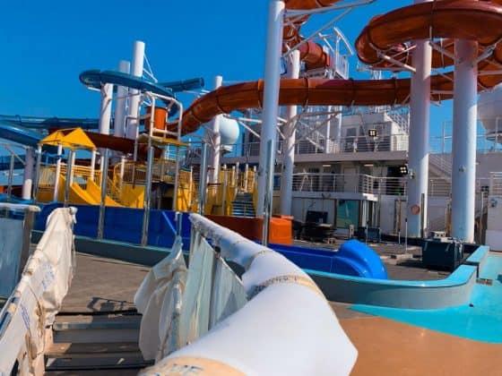 Carnival Panorama at the Shipyard