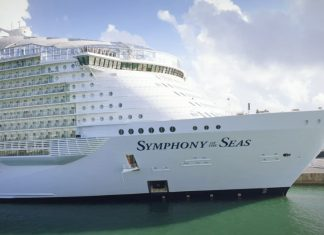 Symphony of the Seas Cruise Ship in Miami