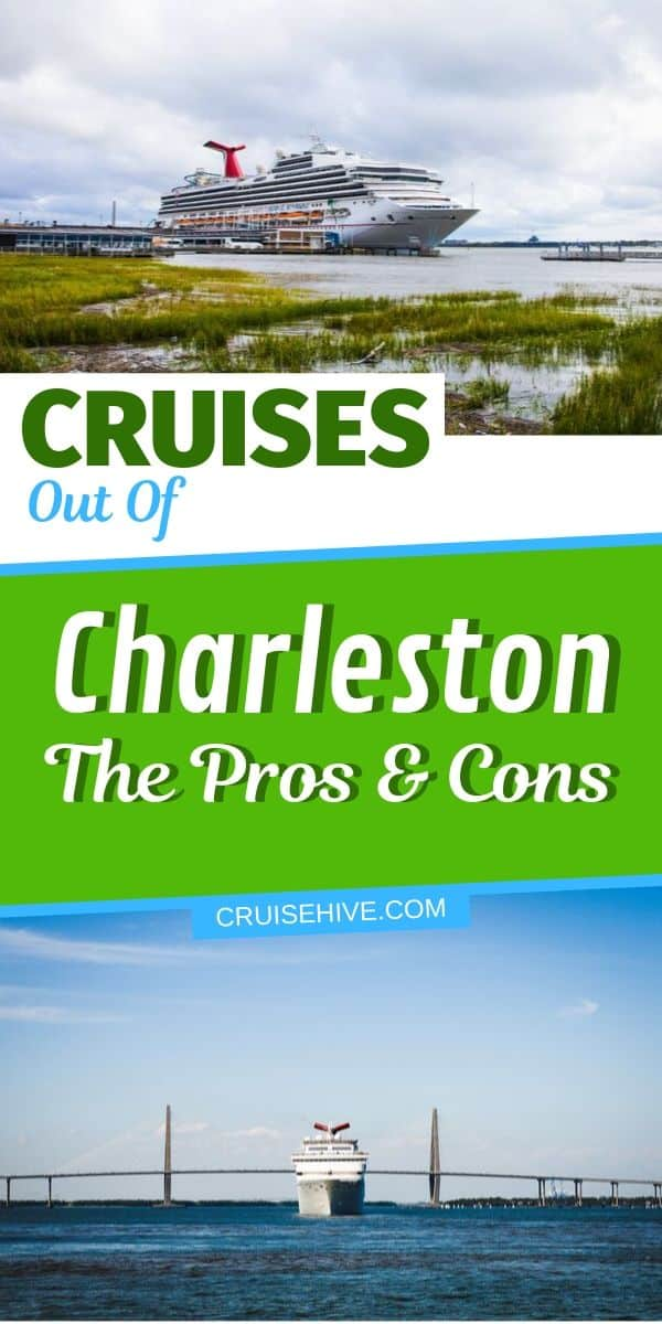 Cruises out of Charleston