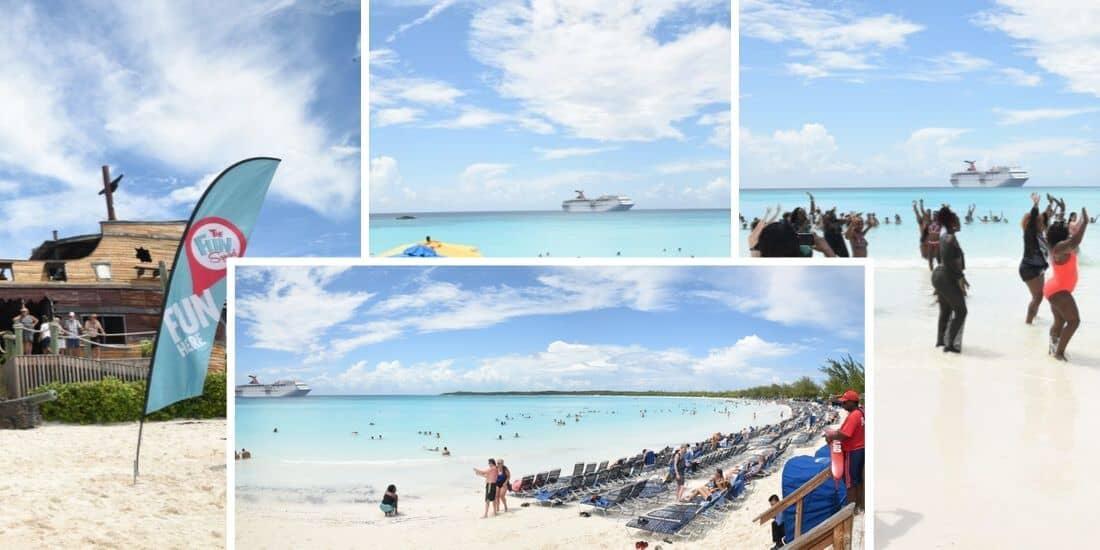 Carnival Ecstasy, Half Moon Cay