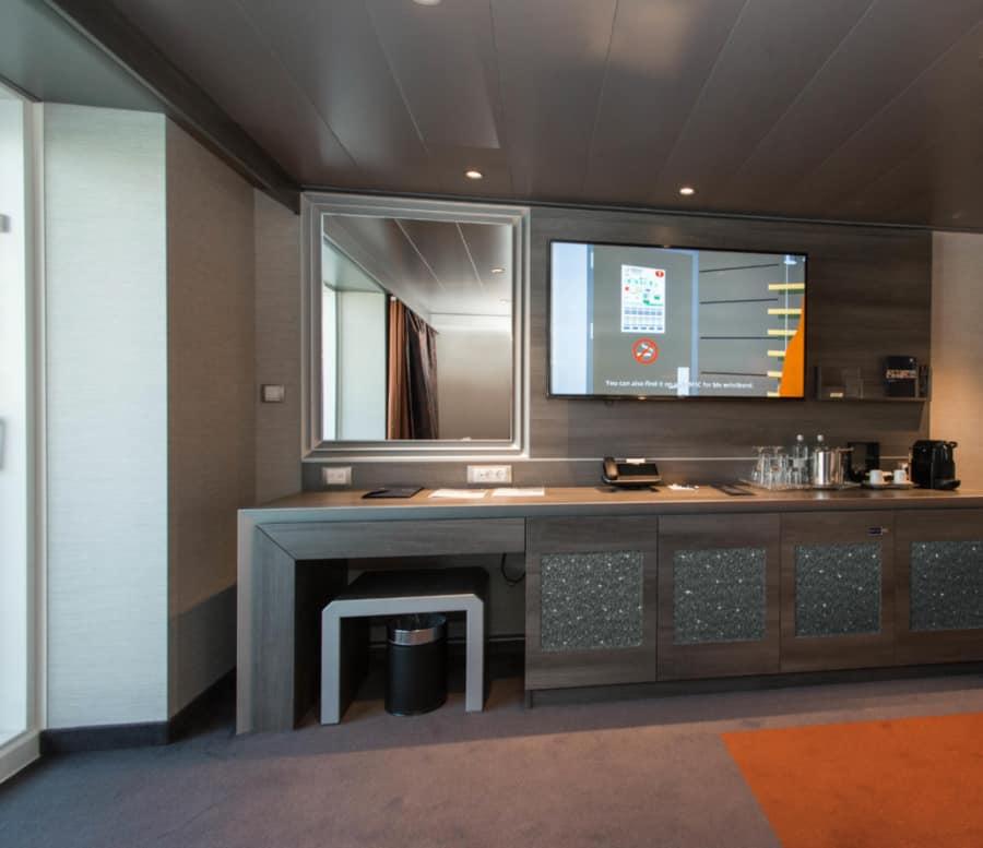 MSC Bellissima Crystal Cabin