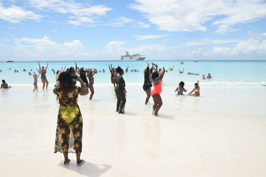 Half Moon Cay Welcomes First Cruise Ship After Hurricane