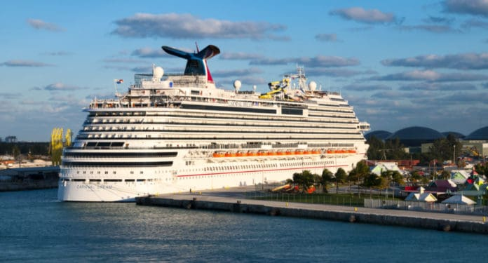 Carnival Cruise Ship, Freeport Bahamas