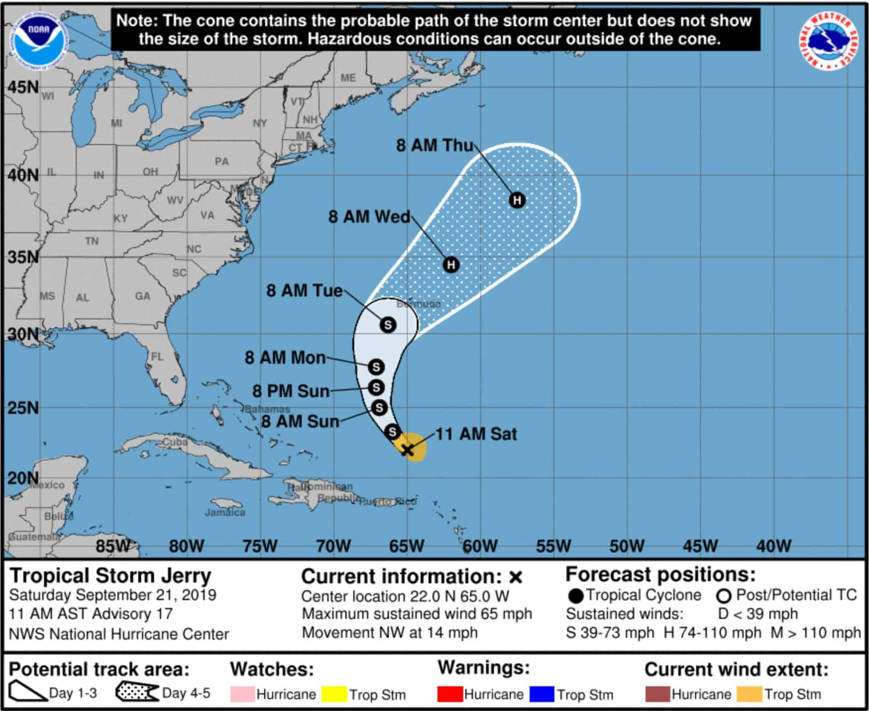 Tropical Storm Jerry