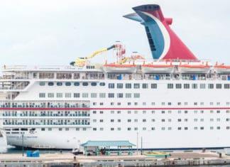Carnival Cruise Ship, Nassau