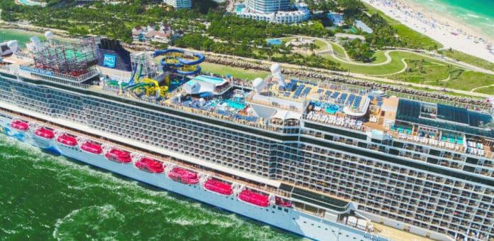 Norwegian Cruise Line Ship