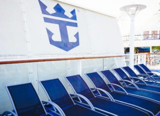 Royal Caribbean Cruise Ship Deck