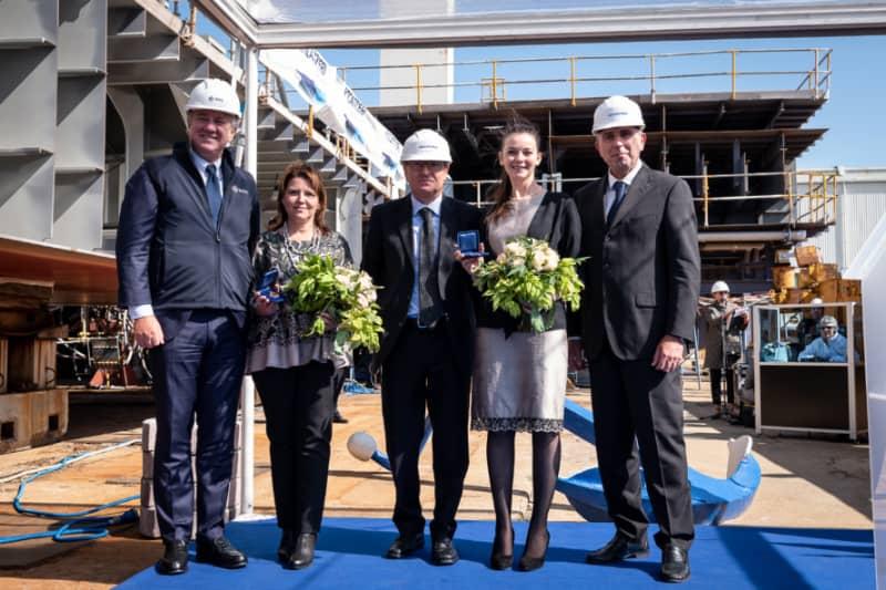 First Seaside Evo Class Cruise Ship Reaches Construction ...