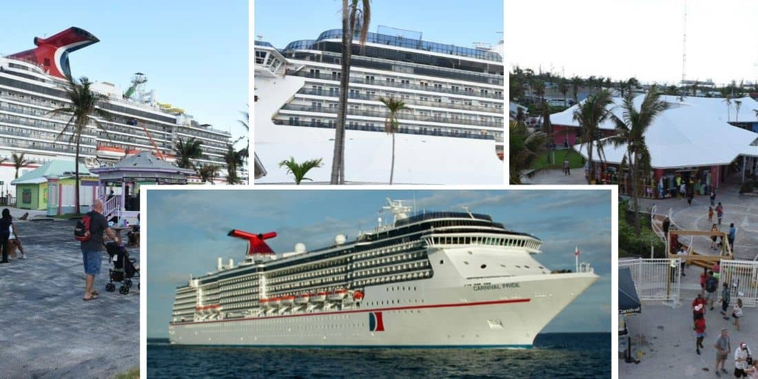 Carnival Pride at Freeport