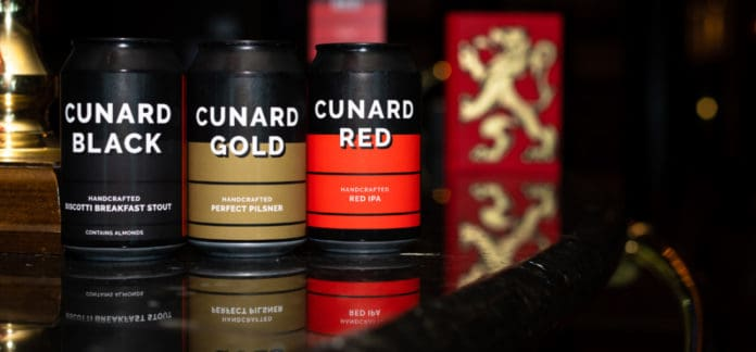 Cunard Line Craft Beers