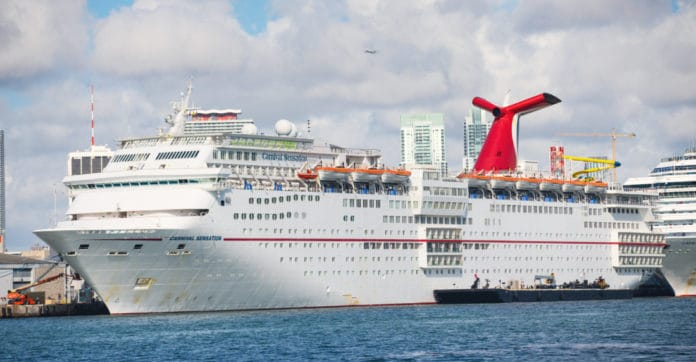 Carnival Sensation at PortMiami
