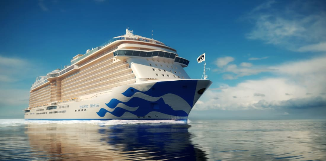 First-Ever New Princess Cruise Ship to be Based on West Coast