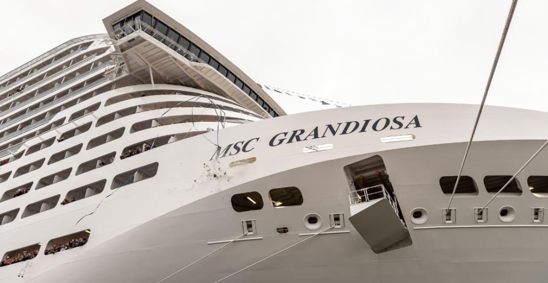MSC Grandiosa Delivery