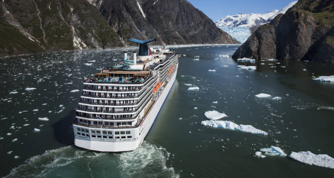 Carnival Cruise Ship in Alaska