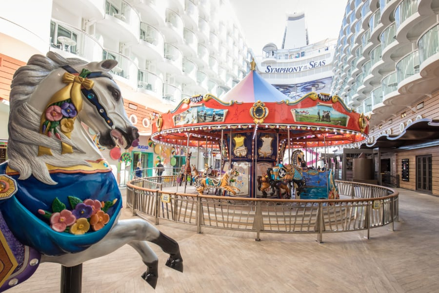 Symphony of the Seas Carousel