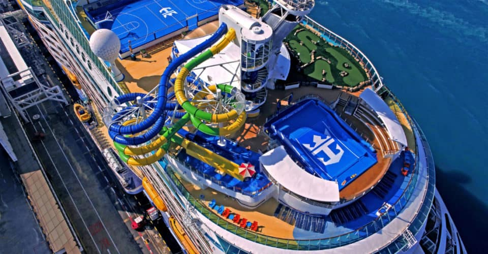 Voyager of the Seas Cruise Ship