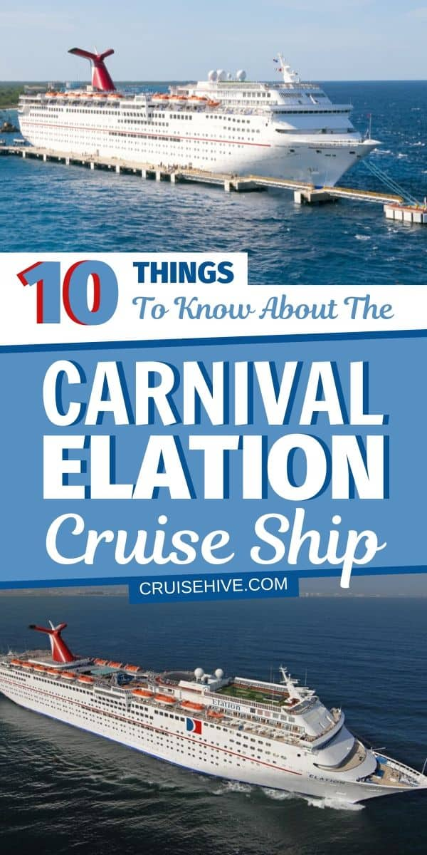 Carnival Elation Cruise Ship