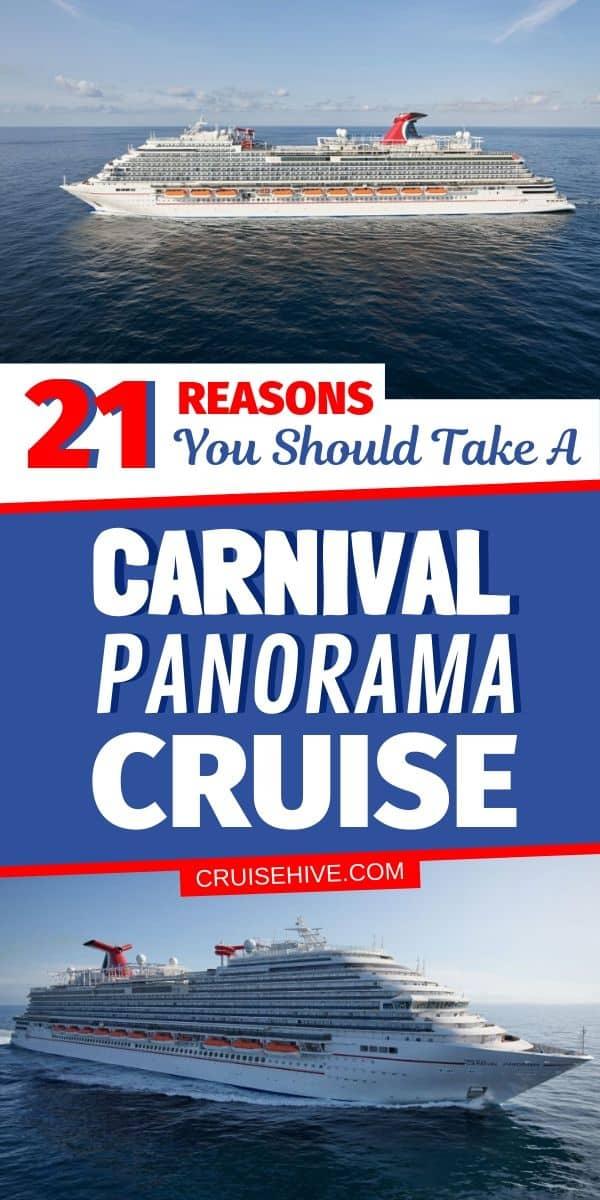 Carnival Panorama Cruise