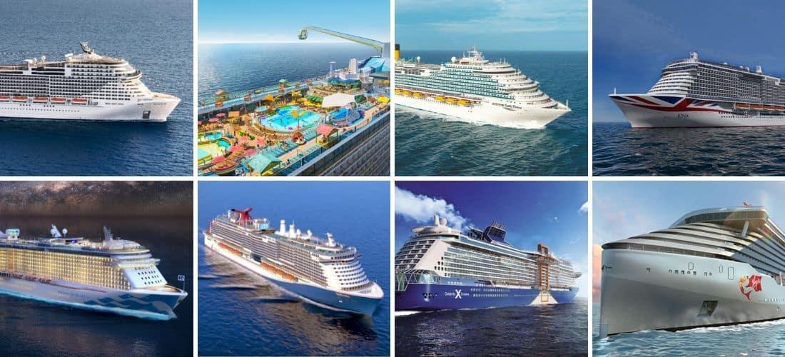 Ocean City Cruise Week 2020.8 New Mega Cruise Ships Arriving In 2020