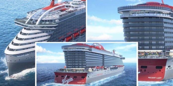 Valiant Lady Virgin Cruise Ship