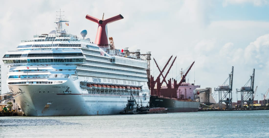 Carnival Cruise Ship, Galveston
