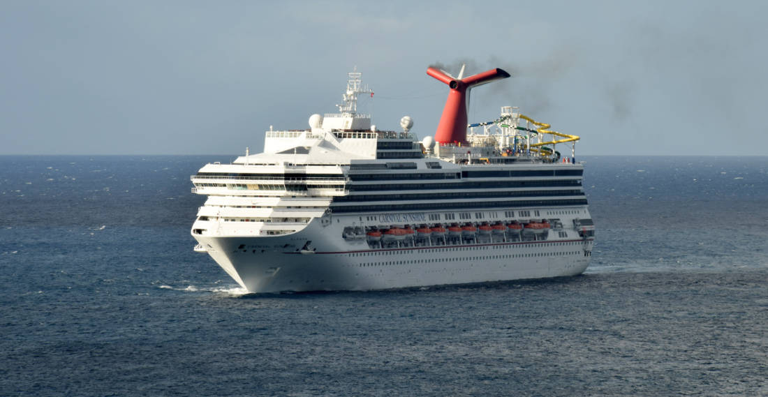 Carnival Sunshine at Sea
