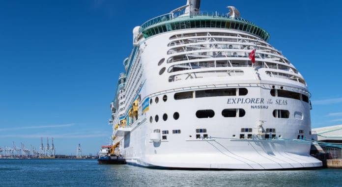 Explorer of the Seas in Southampton