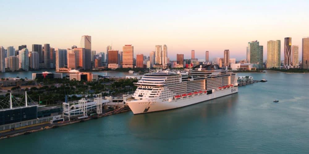 MSC Meraviglia in Miami