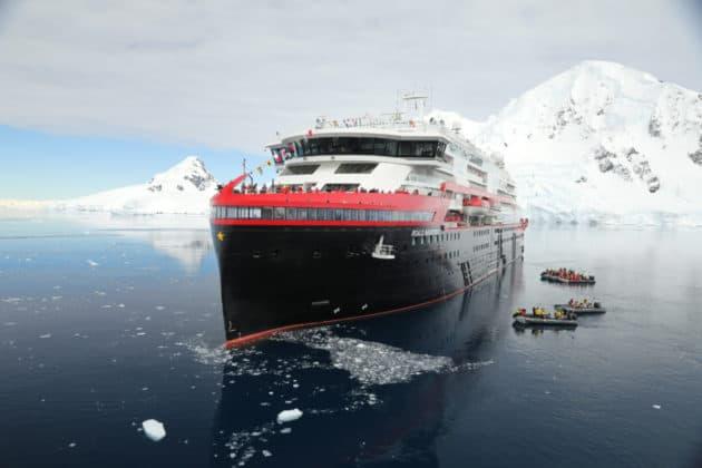 MS Roald Amundsen Naming Ceremony