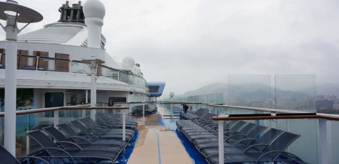 Royal Caribbean Cruise Ship, Bad Weather