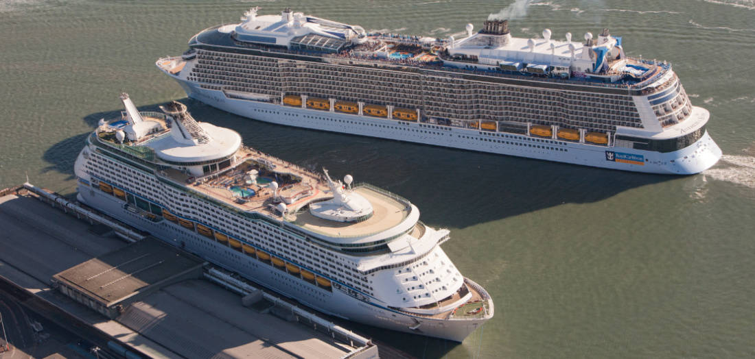Royal Caribbean Cruise Ships in Southampton