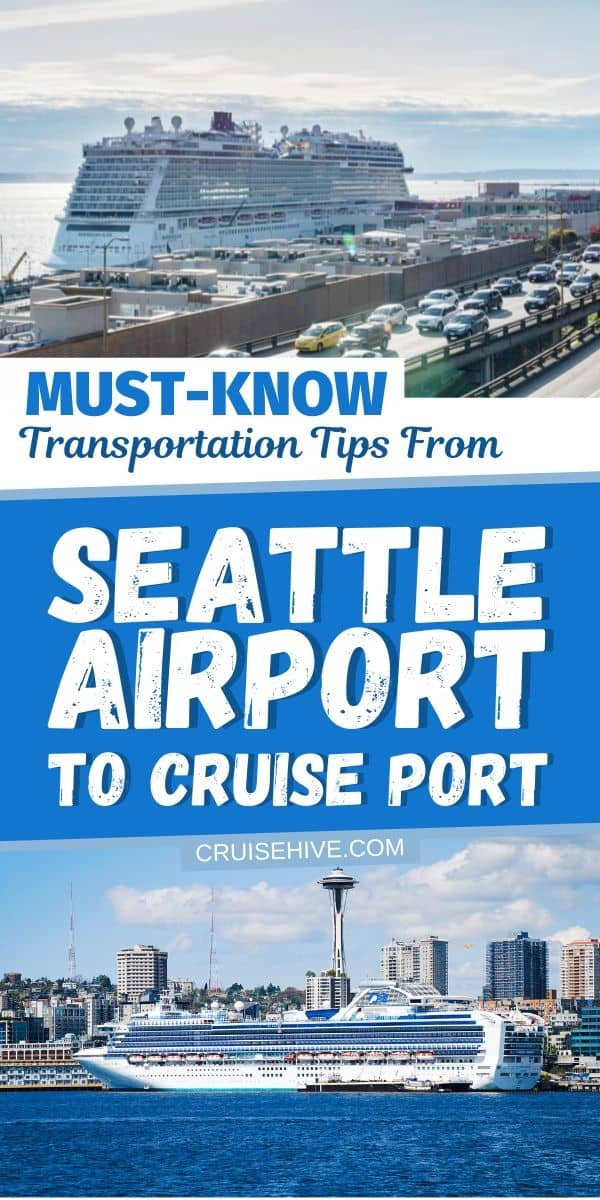 Transportation from Seattle Airport to Cruise Port