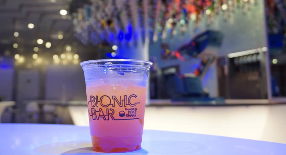 Robotic Bartenders, Bionic Bar