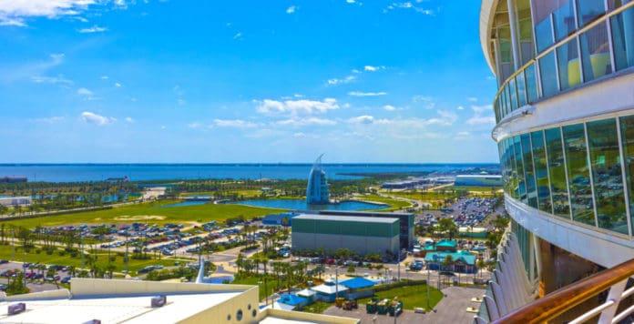 Cruise Ship at Port Canaveral, Florida