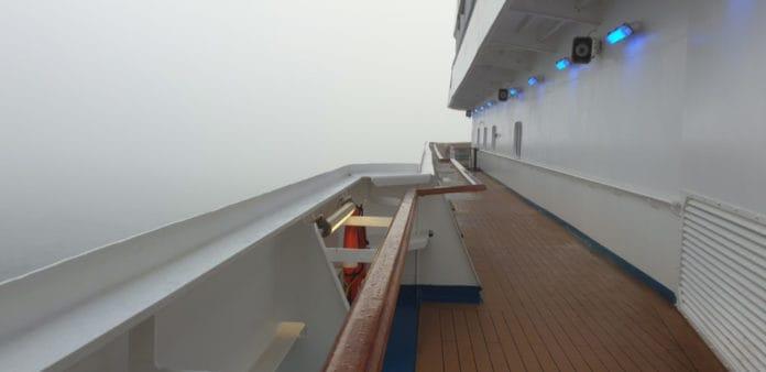 Carnival Dream Cruise Ship Fog