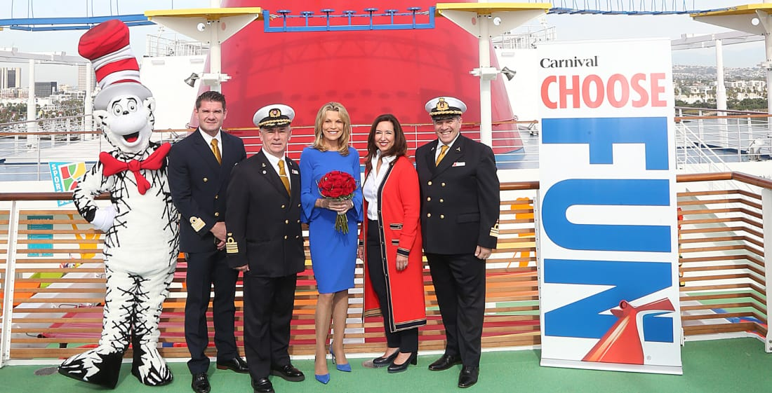Carnival Panorama Naming Ceremony
