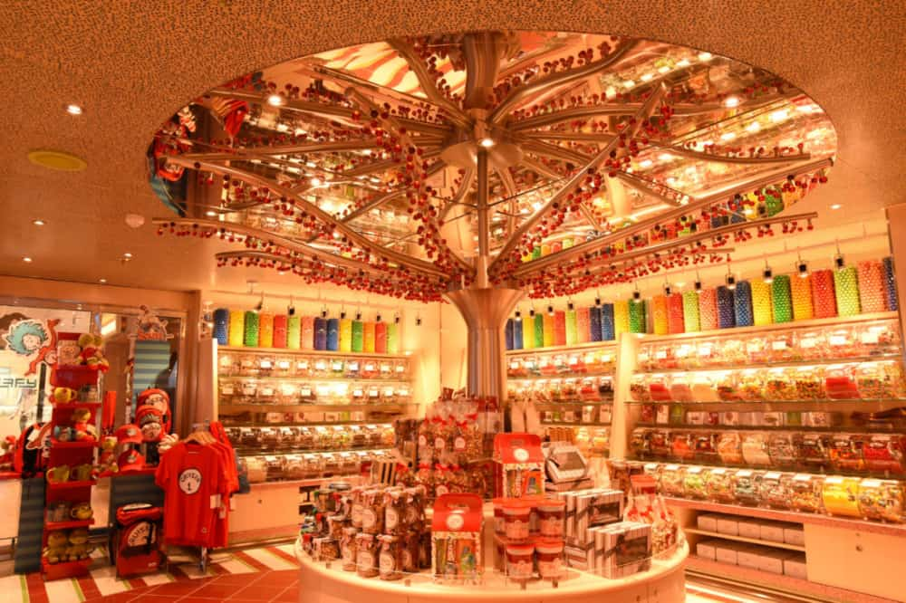 New Carnival Cruise Ship Features Largest Retail Offerings
