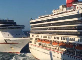 Carnival Cruise Ships Crash