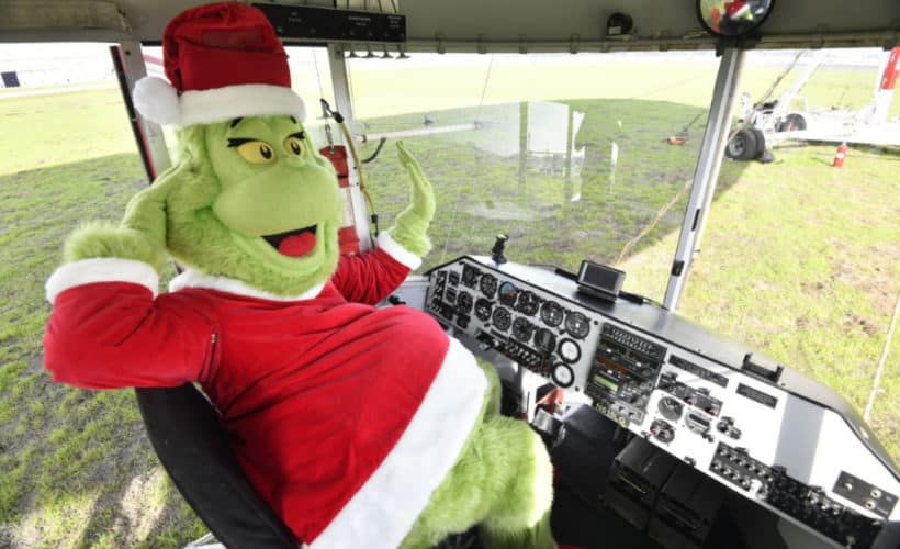 The Grinch, Carnival Cruise Line AirShip