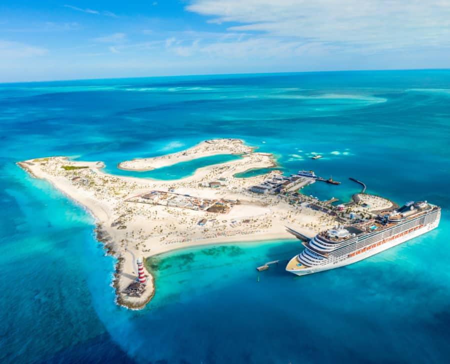Ocean Cay Aerial View