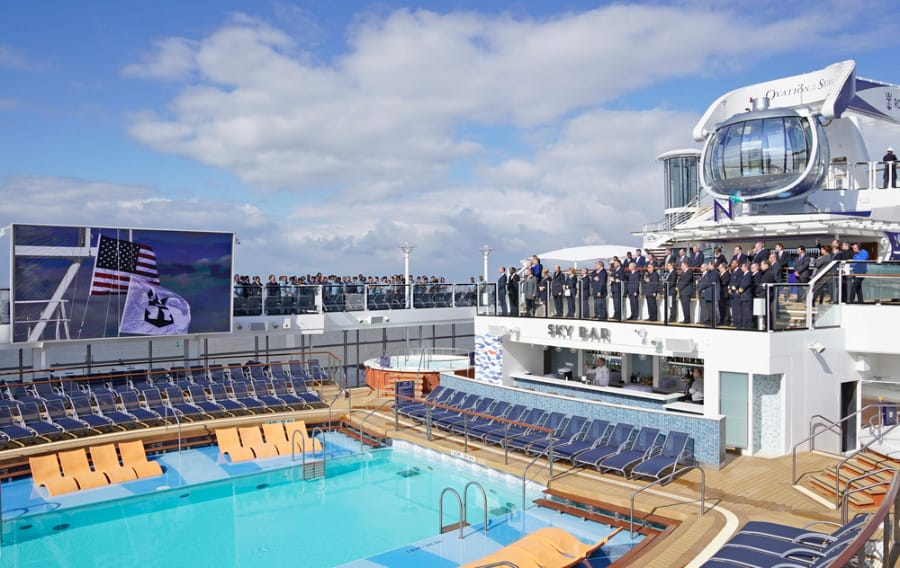 Ovation of the Seas Deck