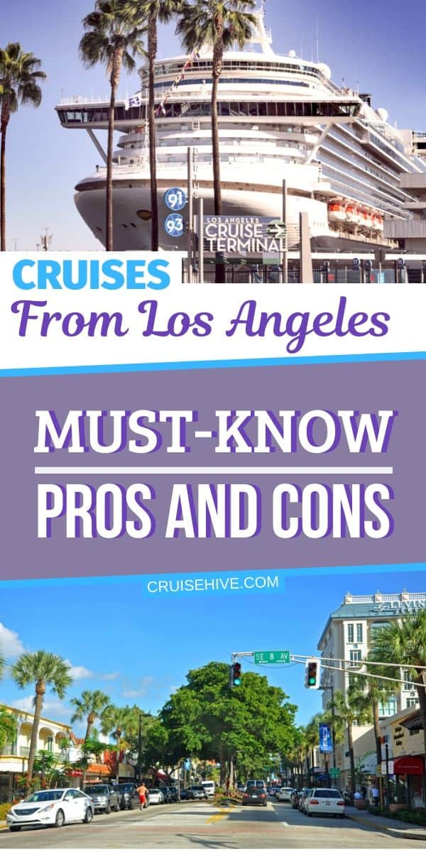 Cruises from Los Angeles