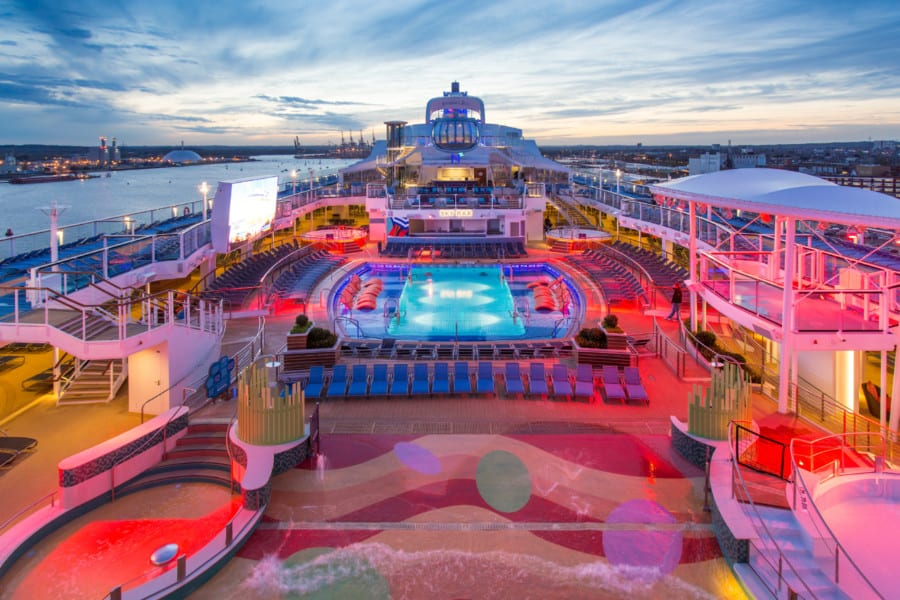 Anthem of the Seas Open Deck