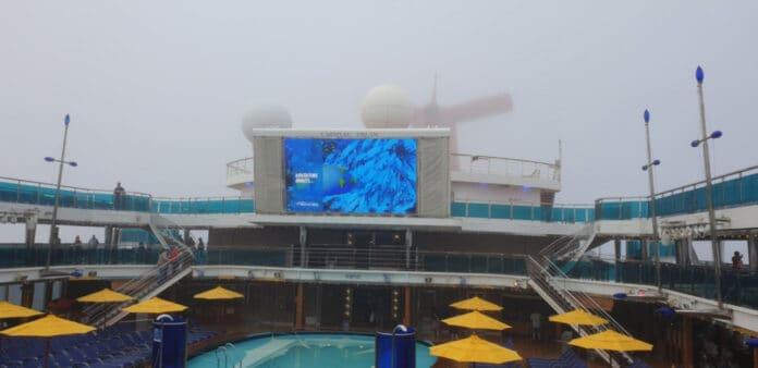 Carnival Dream in Fog