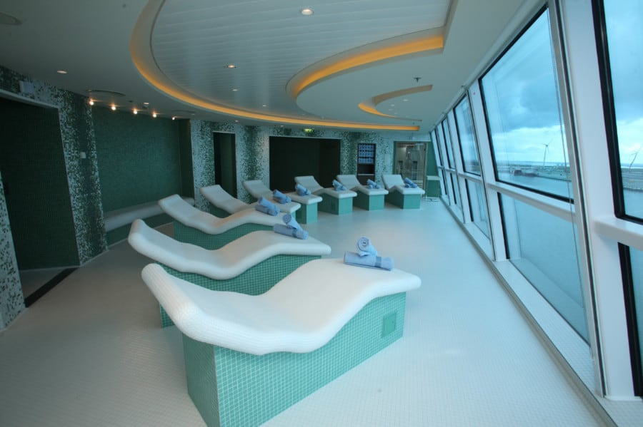 Celebrity Reflection Spa